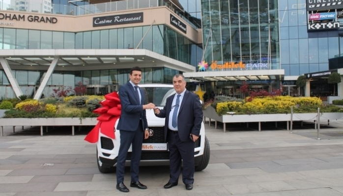 ÖzdilekPark İstanbul 'Jaguar' Sahibi Yaptı