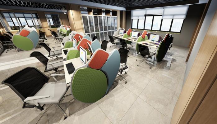Çağrı Merkezlerine Modern ve Fonksiyonel Tasarımlar İçin ''RUBI BY''