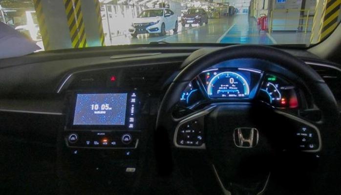 Sağdan Direksiyonlu Civic Sedan Honda Türkiye'den