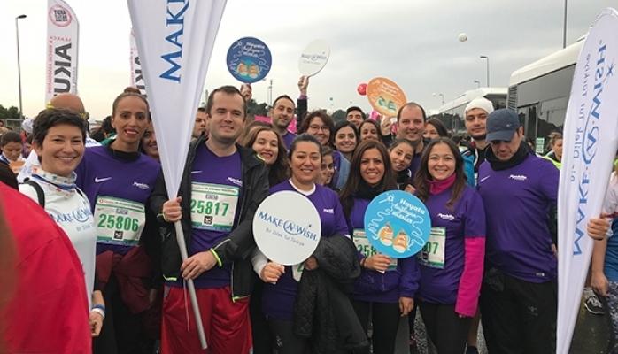 Maratona Katılan En Kalabalık Şirket Ekibi