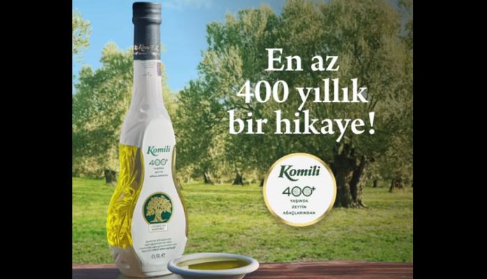 KOMİLİ 400+Zeytinyağı'nın Reklam Filmi Yayında !