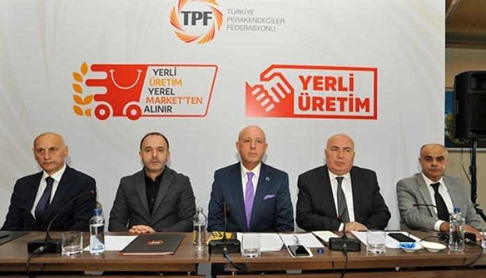 """TPF """"Yerli Üretim Yerel Marketten Alınır"""" Kampanyasını Başlattı"""