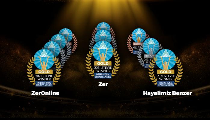 Zer The Stevie Awards'tan 10 Ödülle Döndü