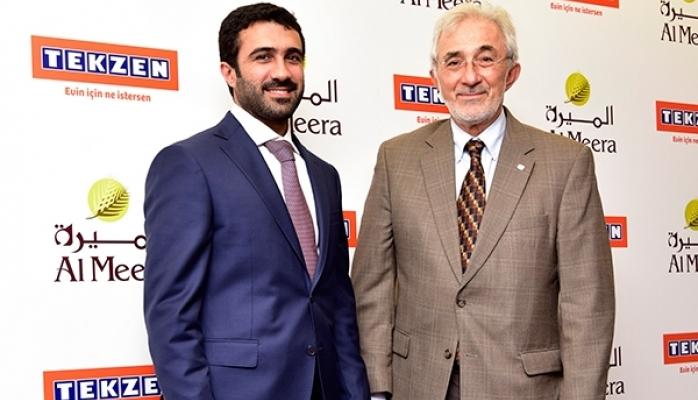 Tekzen Katarlı Al Meera'nın İş Ortağı Oldu