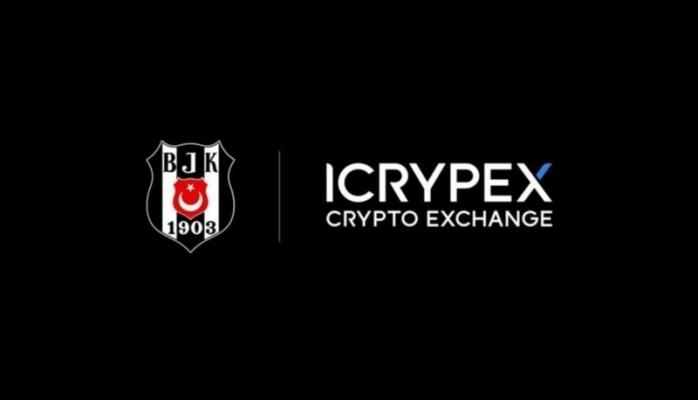 ICRYPEX Kripto Para Borsası  BEŞİKTAŞ JK'ya Sponsor Oldu