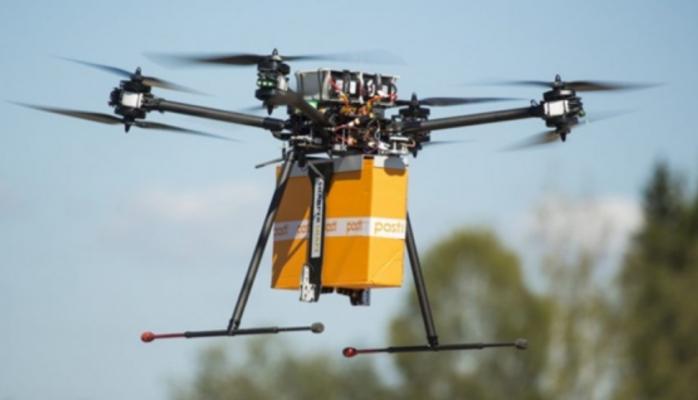 Drone İle Kargo Dağıtmaya Hazırlanıyor