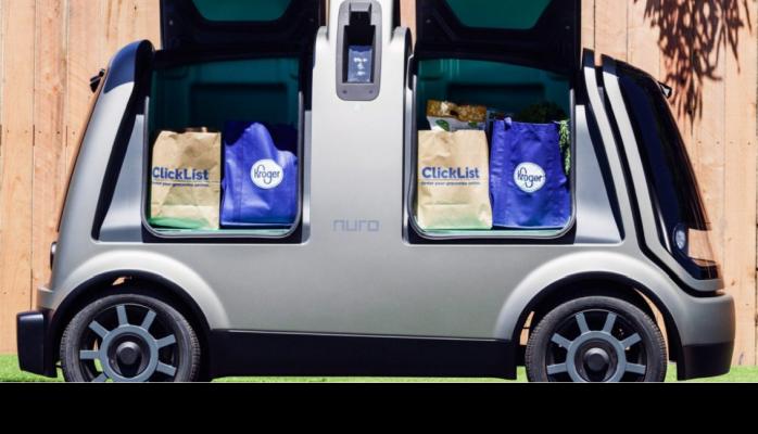 Robot Araçlar Yiyecek Teslimatına Başladı