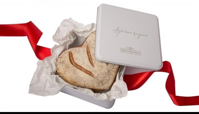 Sevgililer Günü'ne Özel Artizan Aşk Ekmeği Üretildi
