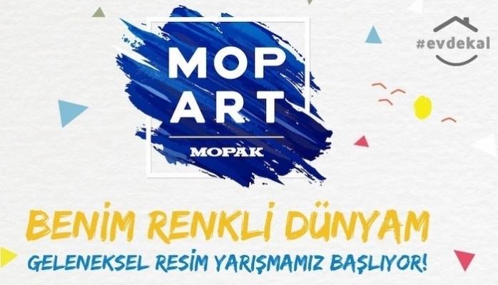 MopArt Resim Yarışması Başladı