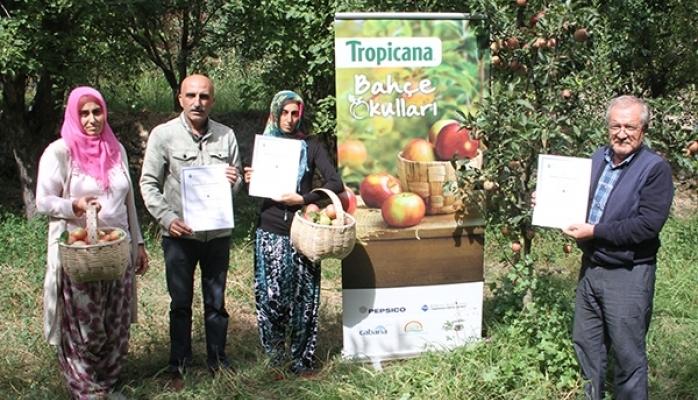 Bahçe Okulları Projesi İle Türk Çiftçilerini Destekliyor