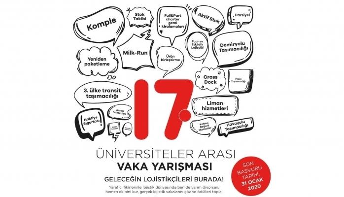 17. Üniversitelerarası Lojistik Vaka Yarışması Kazananları Belli Oldu
