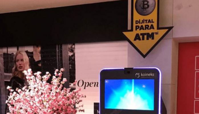 Türkiye'nin İlk Bitcoin ATM'si Açıldı