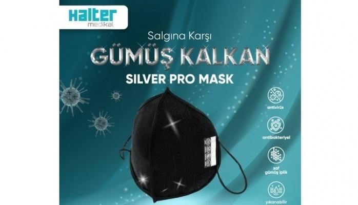 Gümüş İplikli En Yüksek Koruma Silver Pro Mask