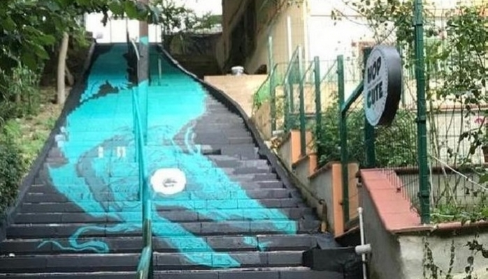 Sokak Sanatı DYO İle Beşiktaş Sokaklarında