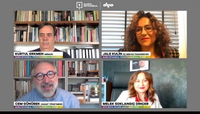 İç Mekan Tasarımcısı Jale Kulin 'Türkiye'nin Renkli Paleti'ni DYO'nun Renkleri İle Yorumladı