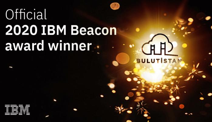 Bulutistan IBM Beacon 2020 Ödülü'nü Kazandı