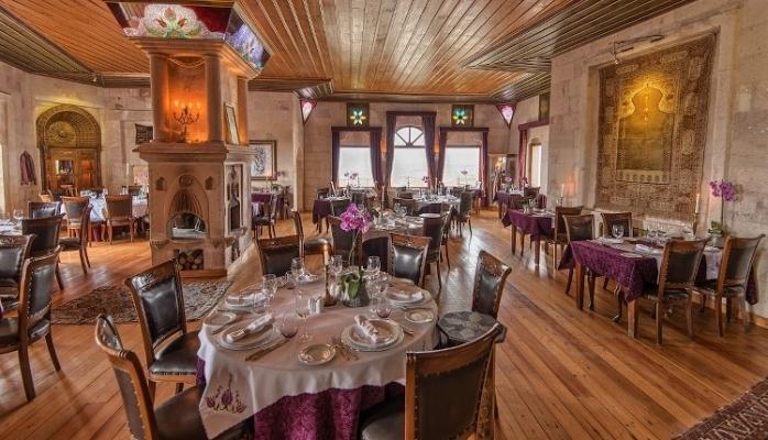 2020'nin En Lüks Otel Restoranı Ödülü Kapadokya'ya Gitti