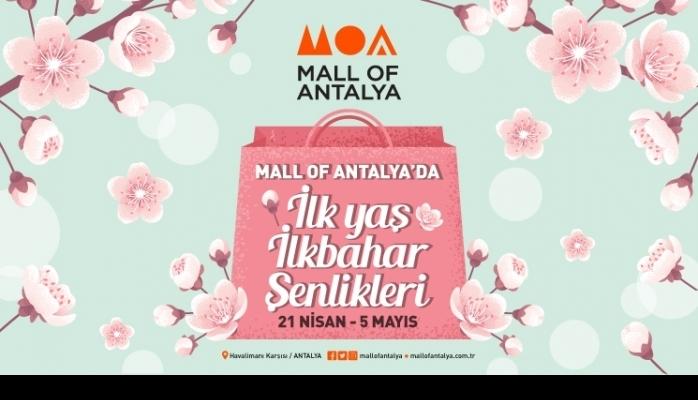 Mall of Antalya Birinci Yaşını Kutluyor