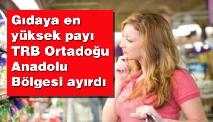 En Yüksek Pay TRB Ortadoğu Anadolu Bölgesi'nden
