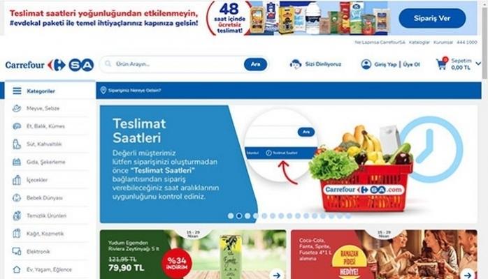 Online Market Günlük Teslimat Kapasitesi 5 Katına Çıktı