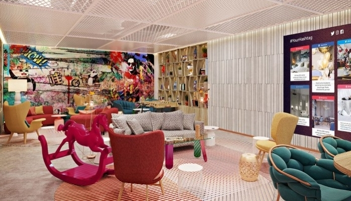 Bishop Design Binyıl Pazarı İçin Çin'de Fotoğraflarla Konsept Otel Yaratıyor