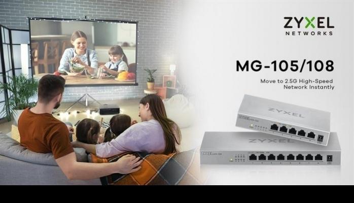 Zyxel'den Daha İyi Ağ Performansı İçin İki Yeni Multi-Gigabit Switch