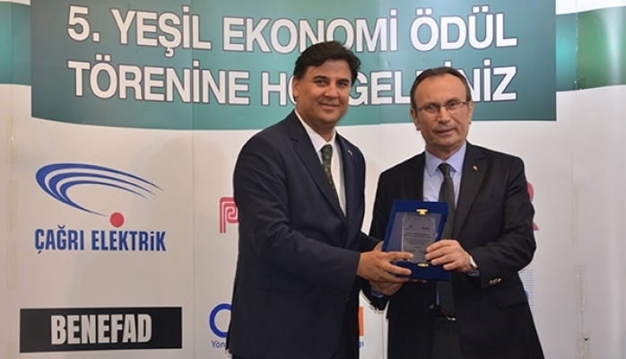 """Reis Gıda'ya """"Yeşil Ekonomi"""" Ödülü"""