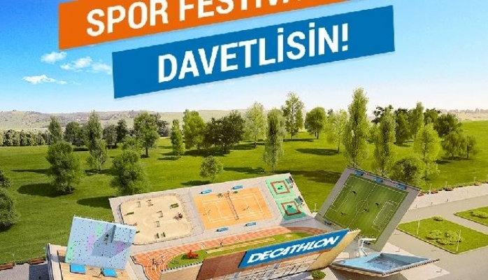 Spor Festivali 19 Mayıs'ta Decathlon'da
