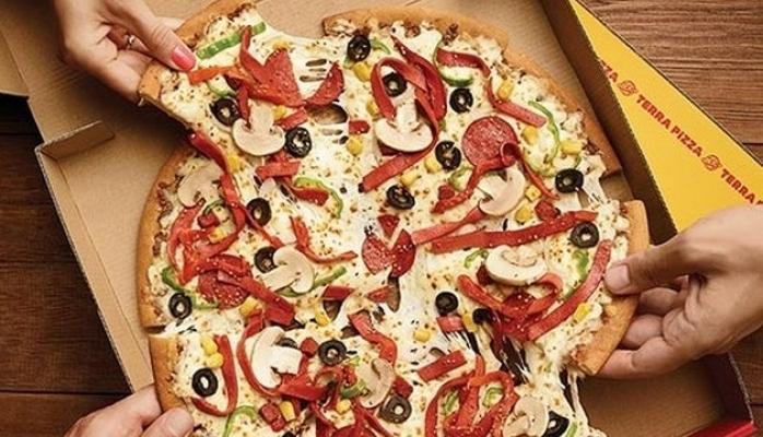 Terra Pizza'dan Bir Yenilik Daha !