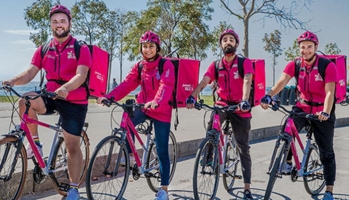 Bisikletli Kurye Dönemi Başladı