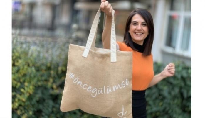 Dilara Koçak Tasarımı Bez Çantalar Sadece GittiGidiyor'da