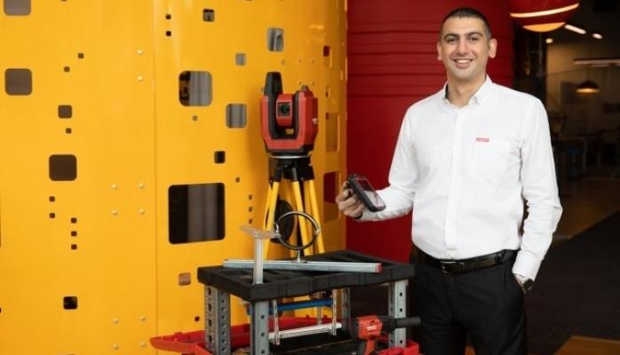 Hilti'nin Şantiye Robotu Jaibot Red Dot'ta ''En İyilerin En İyisi'' Seçildi