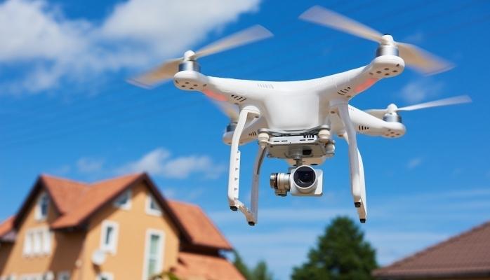 Gayrimenkul İşlemlerinde Teması Drone'lar Önleyecek