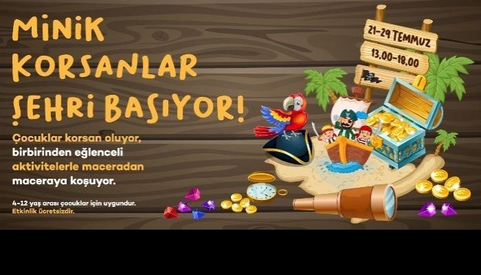 """""""Minik Korsanlar"""" Forum Kayseri'de Buluşuyor"""