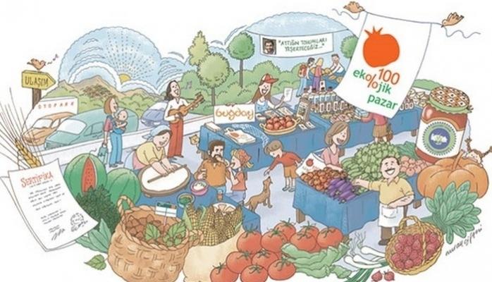 Ekolojik Pazar 10. Yılını Kutladı
