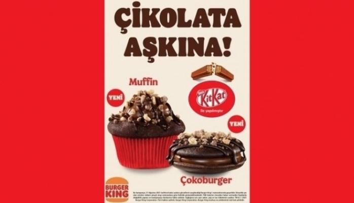 Burger King® Restoranlarında KitKat® Rüzgarı Esiyor