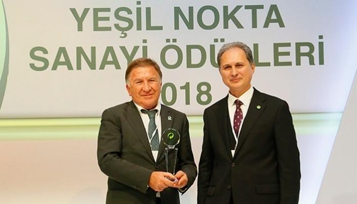 Çevko Yeşil Nokta Teşvik Ödülü'ne Layık Görüldü