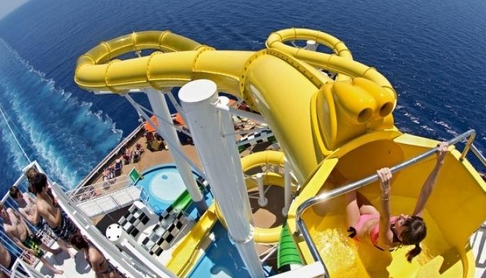 Cruise Gemilerinde Polin Waterparks İmzası