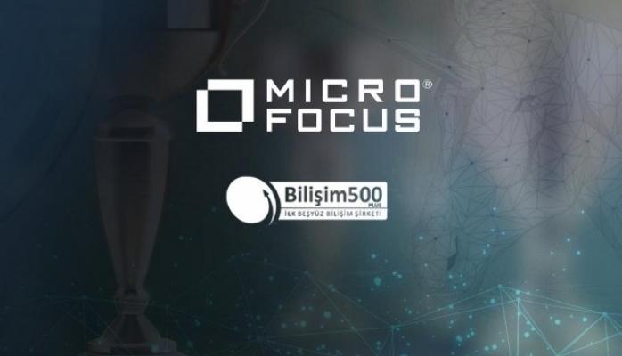 MICRO FOCUS Bilişim 500'de Yeniden Zirvede