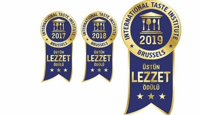 3 Yıl Üst Üste Uluslararası Lezzet Ödülü