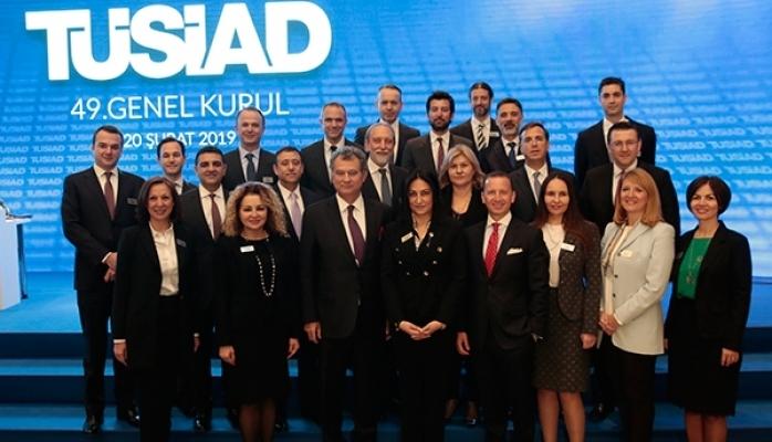TÜSİAD Yönetim Kurulu Başkanı Seçildi