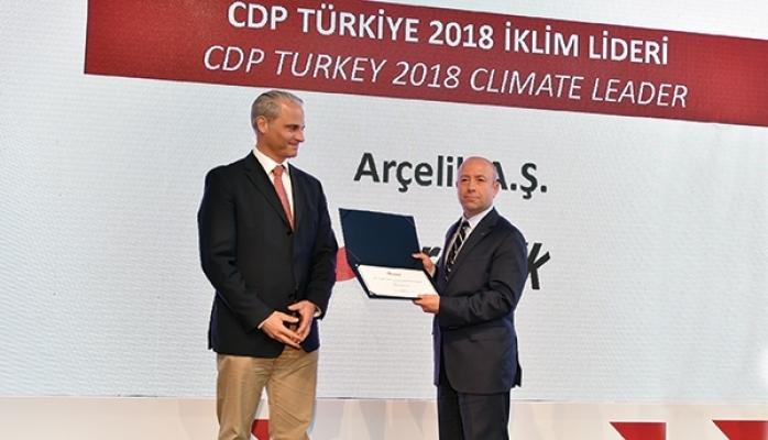 CDP Türkiye İklim Liderliği Ödülü'ne Layık Görüldü