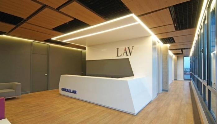 LAV Genel Müdürlük Ofisi'nde OSO Mimarlık İmzası…