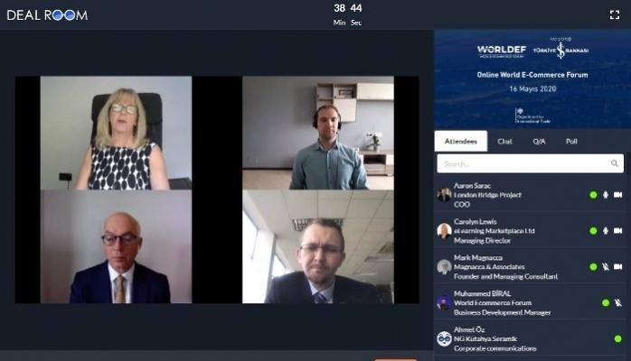 E-İhracat İçin 6 Bin Şirket Online Forumda Bir Araya Geldi
