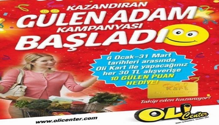 """""""Gülen Adam"""" Kampanyası Başladı"""