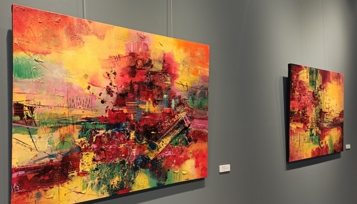 ''Aynı Çatı Altında'' Resim Sergisi Başkent'te Kapılarını Açtı
