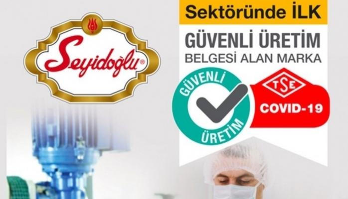 Seyidoğlu Gıda'dan Önemli Sertifika