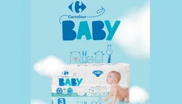 """CarrefourSA Güvencesiyle Uluslararası Standartlarda """"Carrefour Baby"""" Bebek Bezi"""