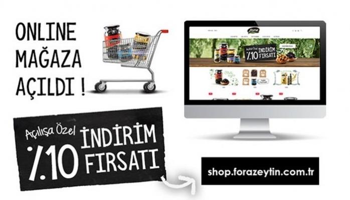 Online Satış Mağazası Açıldı